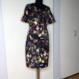 Paul Smith Watercolor Floral Shift Dress Size 42